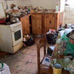 Le nettoyage d'un logement insalubre, nettoyage d'un appartement très sale