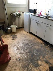 Nettoyage après squat